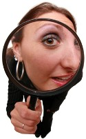 woman-magnifying-glass-searching