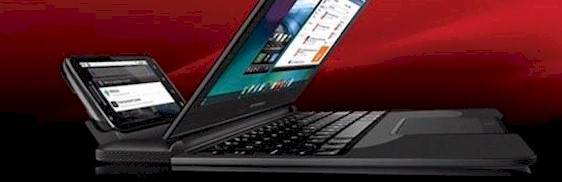 Motorola-Atrix-4G-On-Its-Laptop-Loading-Dock