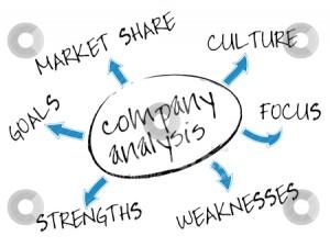 Company analysis chart