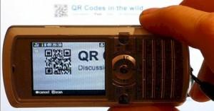 smartphone scanning a _QR_code