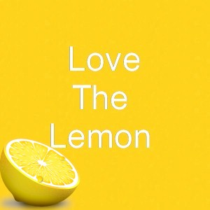 the bright yellow of a lemon