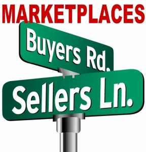 marketplaces is where buyers and seller meet