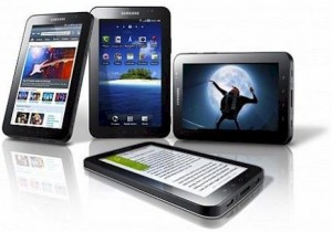 the various selections of tablet computer PCs