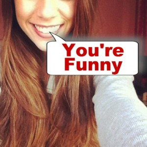 someone with a genuine laugh likes you