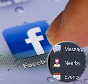 how to take advantage of Facebook Nearby for local