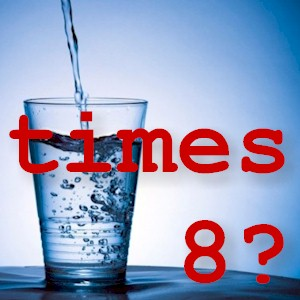 why drinking 8 glasses of water is a myth