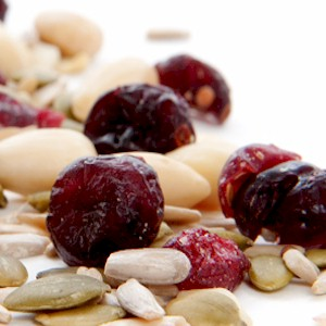 eating fiber rich foods such as dried fruit