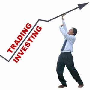 the difference between investing and trading