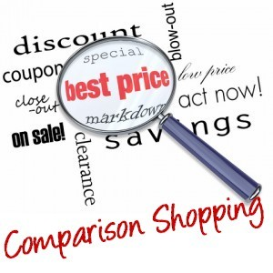 why you should be comparison shopping