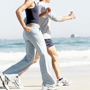 doing low impact walking exercises