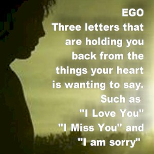 ego is a mask