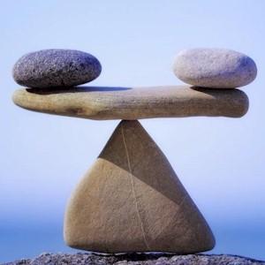 needing the proper balance
