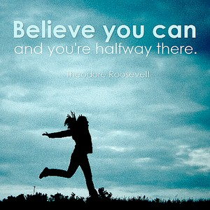having belief that you can