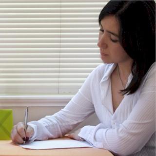 write down grateful things