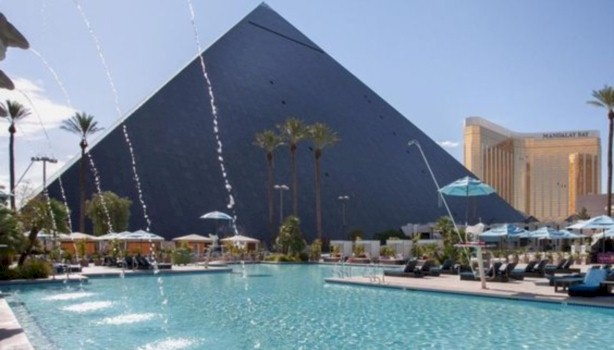 Book a room at the Luxor Hotel in Las Vegas